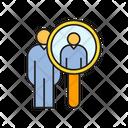 Human Resource Recruitment Employee Icon