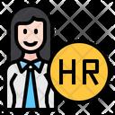 Human Resource Hr Person Icon