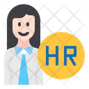 Human Resource Hr Person Icon