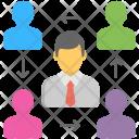Human Resource Staff Icon