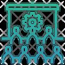 Human Resource Development Human Train Icon