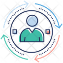 Human Resources Personnel Selection Staff Workforce Icon