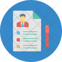 Human Resources Job Application Job Hiring Icon