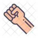 Rights Hand Fist Icon
