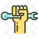 Rights Hand Spanner Icon