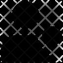 Human Safety Defense Shield Protective Shield Icon