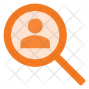 Human Search Icon