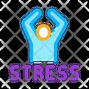 Human Stress Health Icon
