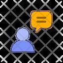 Human Talk Icon