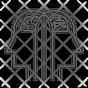 Human Vs Ai Board Game Checkers Icon