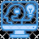 Computer Humanities Lightbulb Icon