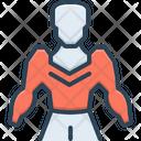 Humanoid Cyborg Algorithm Icon