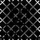 Humanoid Architecture Intelligen Icon