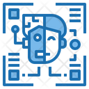 Humanoid Artificial Intelligence Icon