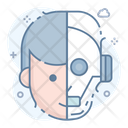 Robot Android Bionic Man Icon
