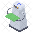 Humanoid Robot Assistant Icon