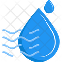 Humidity Drop Water Icon