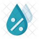 Humidity Watery Weather Water Drop Icon