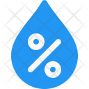 Humidity Water Drop Icon