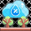 Humidity Temperature Water Drop Icon