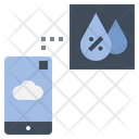 Humidity Mobile Application Icon
