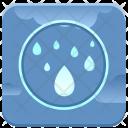 Humidity Rain Drop Icon