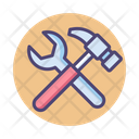 Hummer And Wrench Icon