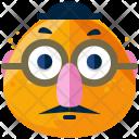 Humourous Emoji Face Icon