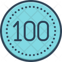 Hundred Score Guarantee Icon