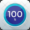 Hundred Percent Full Icon