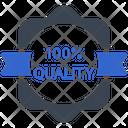 100 Quality 100 Quality Icon