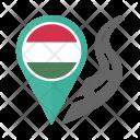 Hungary Flag Icon