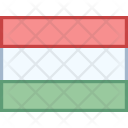 Hungary Flag Country Icon