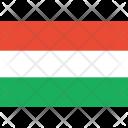Hungary Flag World Icon