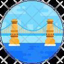 Hungary Bridge Footbridge Overpass Icon