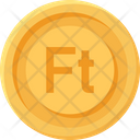 Hungary Forint Coin Hungary Forint Forint Icon