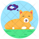 Cat Thoughts Hungry Cat Cat Dream Icon