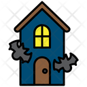 Hunted House Scary House House Icon