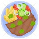 Hunter Beef Beef Steak Beef Jerky Icon