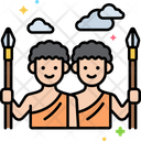 Hunter Gatherers Excursion Culture Icon