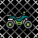 Hunting Atv Icon