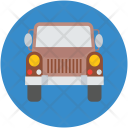 Hunting Car Jeep Icon