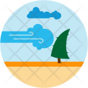 Hurricane Natural Disaster Icon