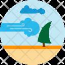 Hurricane Natural Disaster Icon