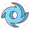 Hurricane Cyclone Cyclonic Icon
