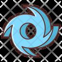Hurricane Cyclone Cyclonic Icon