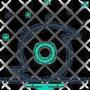Hurricane Vortex Cyclone Icon
