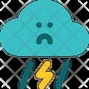 Hurricane Typhoon Storm Icon
