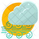 Hurricane Cloud Wind Icon