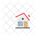 Hurricane Home Icon